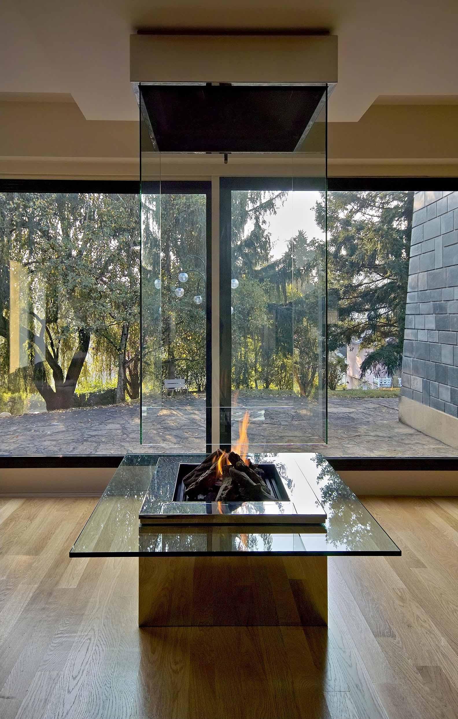 Contemporary Fireplace Custom Fireplace Modern Luxury