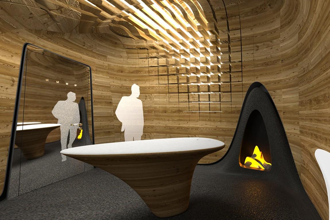 Zaha Hadid Fireplaces Bloch Design Fireplaces Bespoke